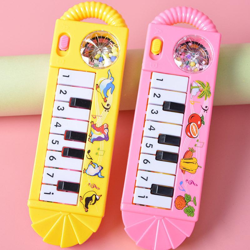 儿童音乐电子琴迷你电动音乐吉它男孩女孩小礼品地摊货源玩具批发