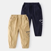 2021春季男童休闲长裤男童春季新款长裤外穿男宝宝潮裤