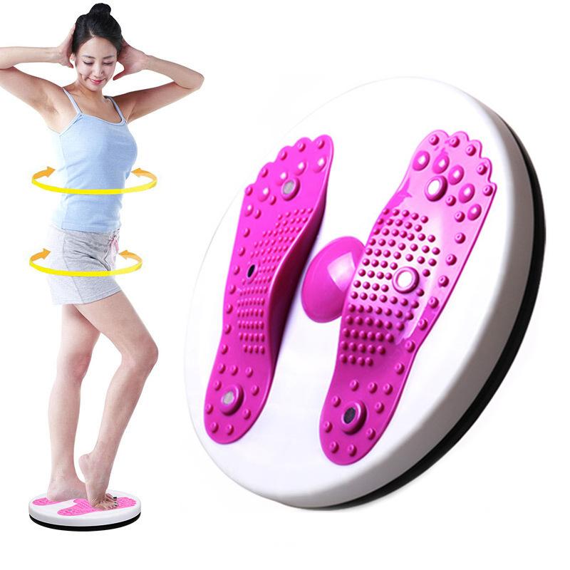 厂家直销扭腰盘扭腰机健身器材磁疗扭脚底按摩扭腰器多功能健腹器