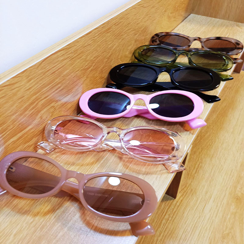 candy color PC frame retro sunglasses NHBA311519