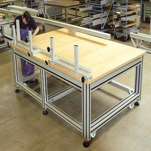 测试检测安全桌垫防潮箱货架手推车PVC双层储物防静电维修工作台