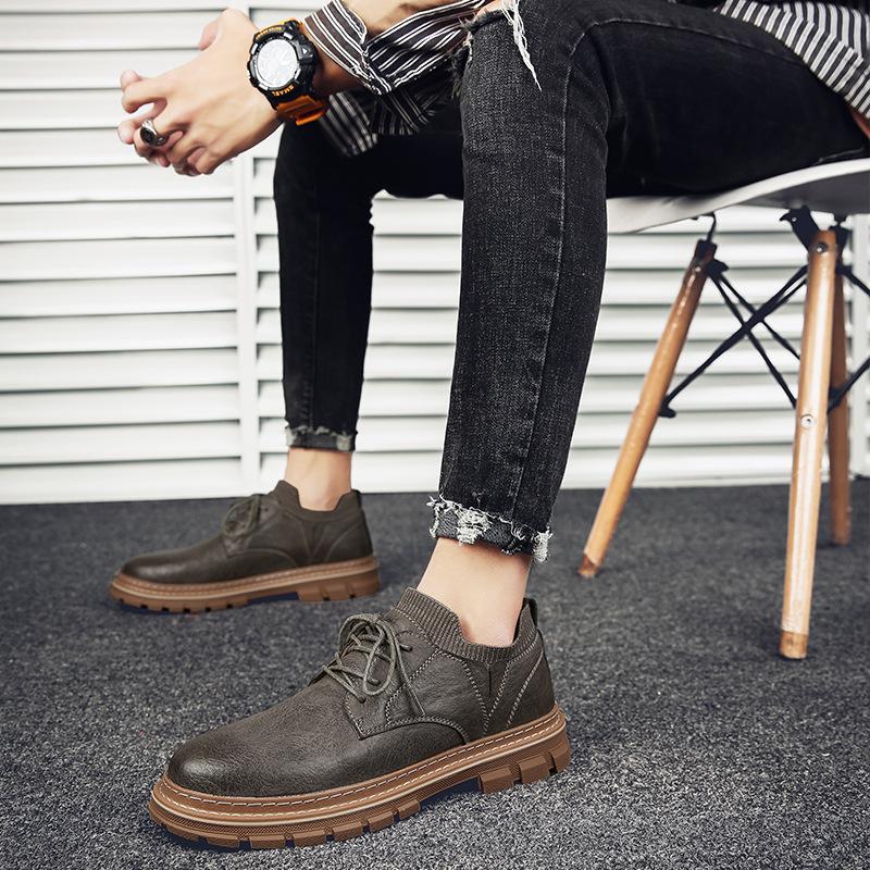 皮鞋男士春夏季商务休闲正装皮鞋子男潮流韩版商务鞋子新款鞋百搭