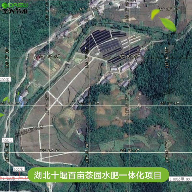 寿光菜博会园区智慧大棚水肥一体化改造项目地形图