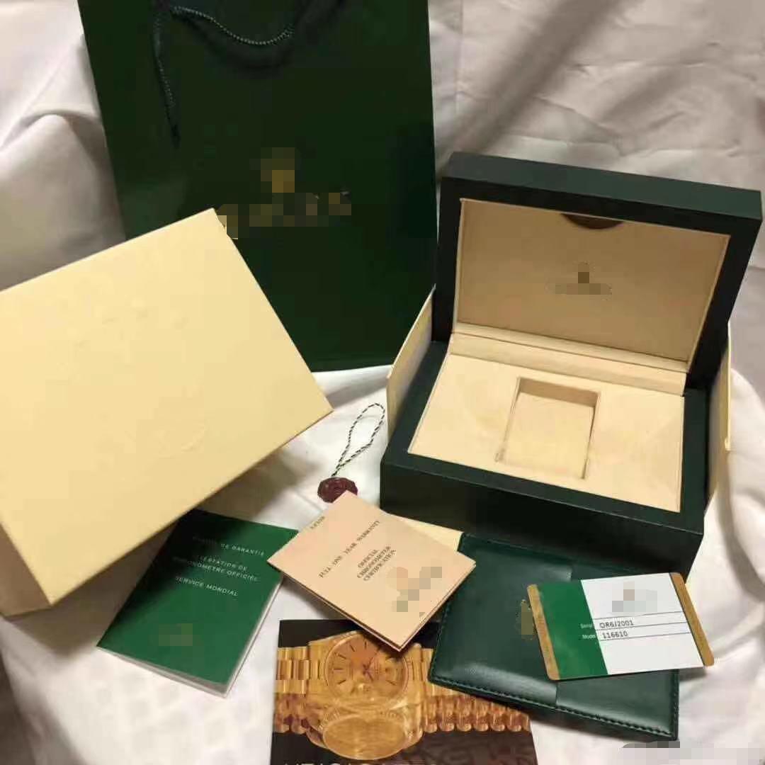 Watch box, Rolex watch box, green water...