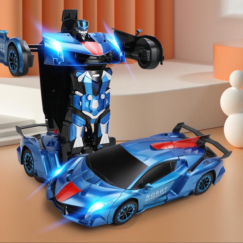2.4G遥控变形汽车儿童金刚机器人RC手势感应玩具车男孩无线遥控车