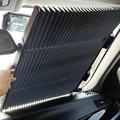 夏季汽车遮阳挡遮阳帘汽车防晒隔热降温自动伸缩车用太阳挡