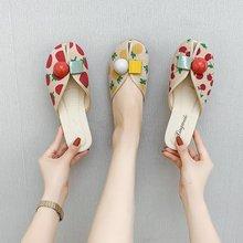 潮流女凉鞋2021夏季新款韩版水果可爱外穿舒适包头鱼嘴沙滩女凉拖