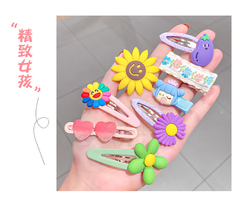 fashion candy color childrens hairpin  NHNA336429