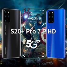 2+16g穿孔高清屏S20+pro跨境电商手机wish爆款穿孔屏智能机