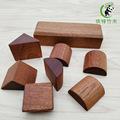 木质拼装积木玩具定制 儿童早教益智小颗粒 桌面游戏木头玩具
