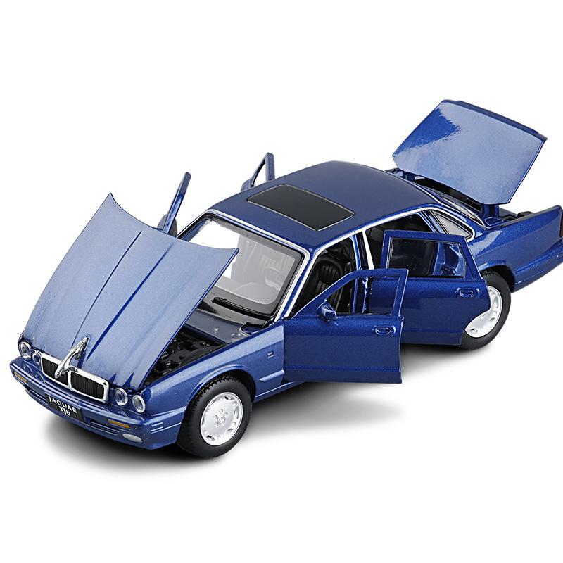 柯慕JK823525仿真捷豹XJ6合金汽车模型合金玩具车模男孩收藏摆件