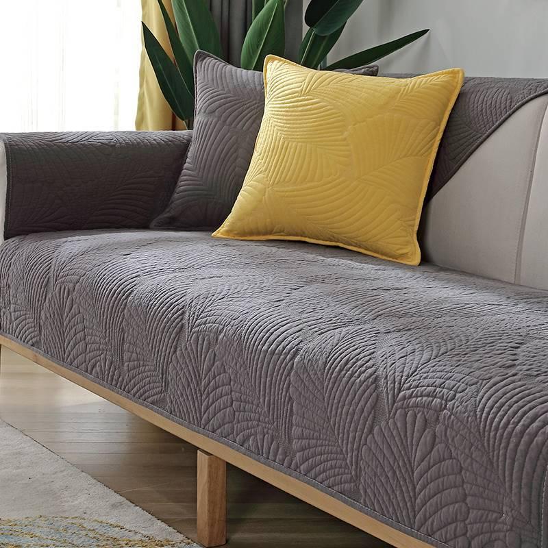 2021年新款沙发垫子四季通用时尚款北欧风沙发上的盖布沙发巾薄款