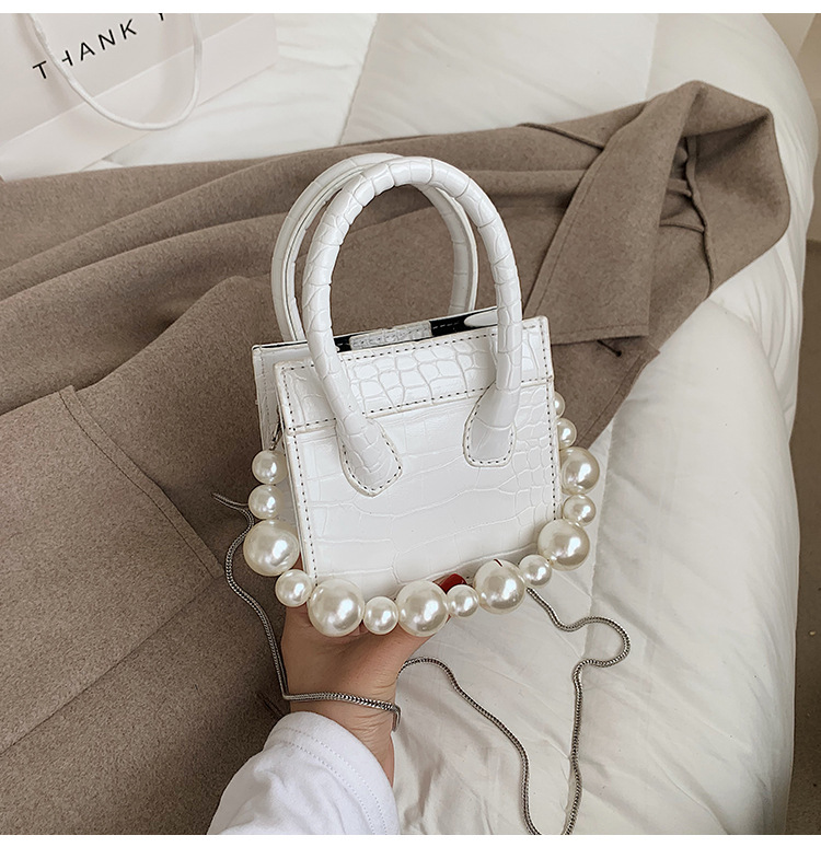 fashion pearl mini bag  NHLH316372