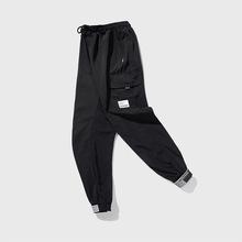 2020现货韩版男款休闲裤  工装裤九分裤修身显瘦 支持一件拿货