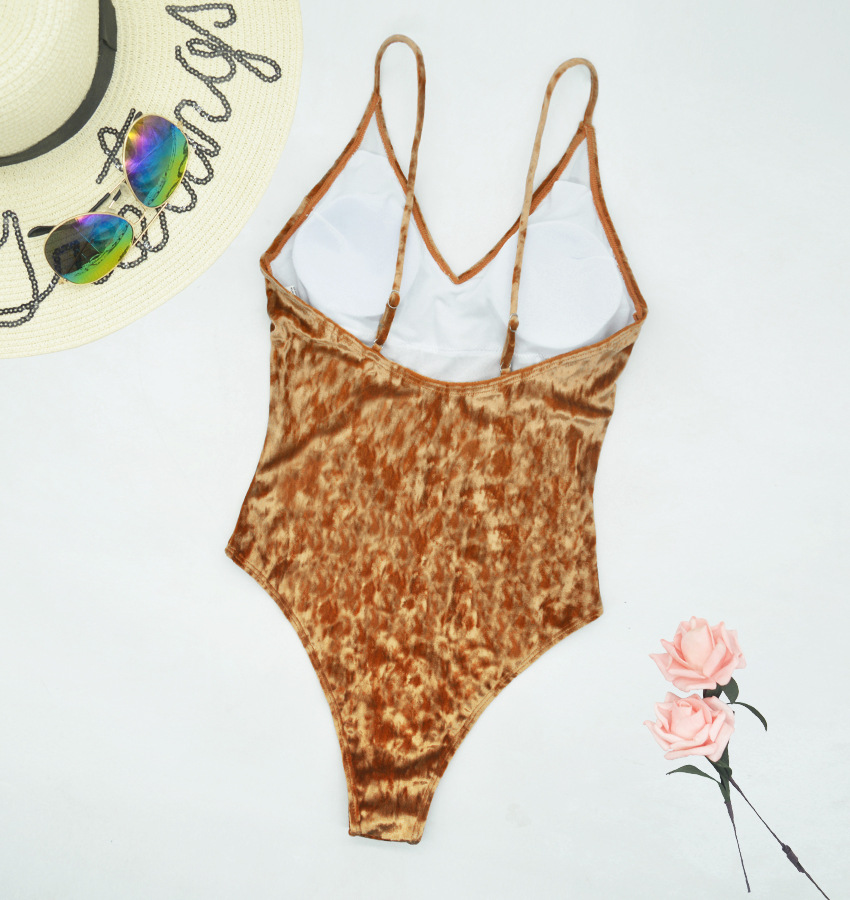 sexy backless one-piece triangle swimsuit  NSHL38196