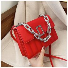 网红爆款链条女包包2021新款时尚百搭斜挎包高级感洋气单肩小方包