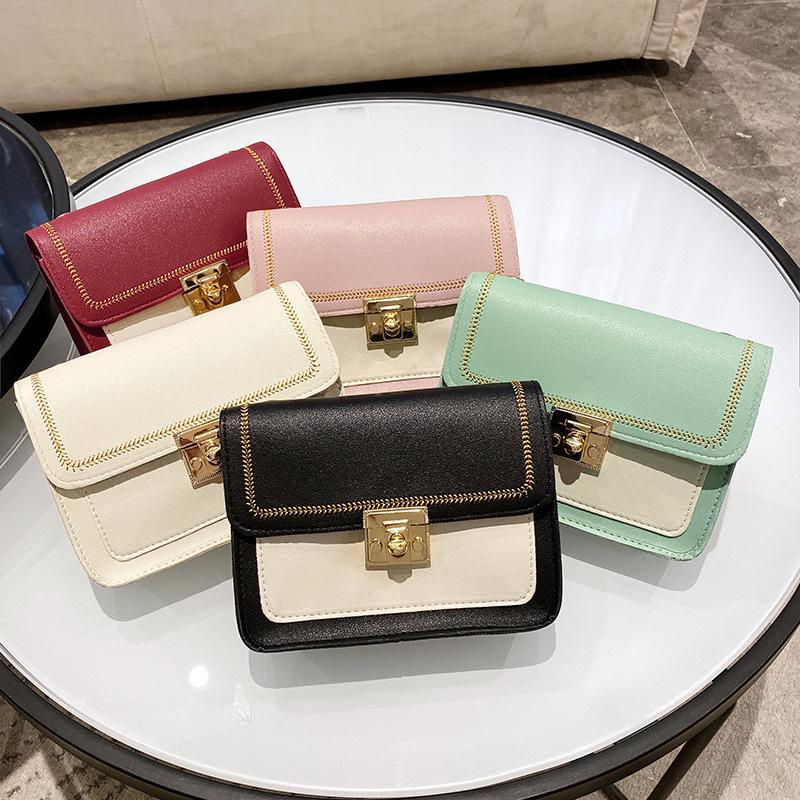 Bag women 2021 new fashion Bags hit colo...