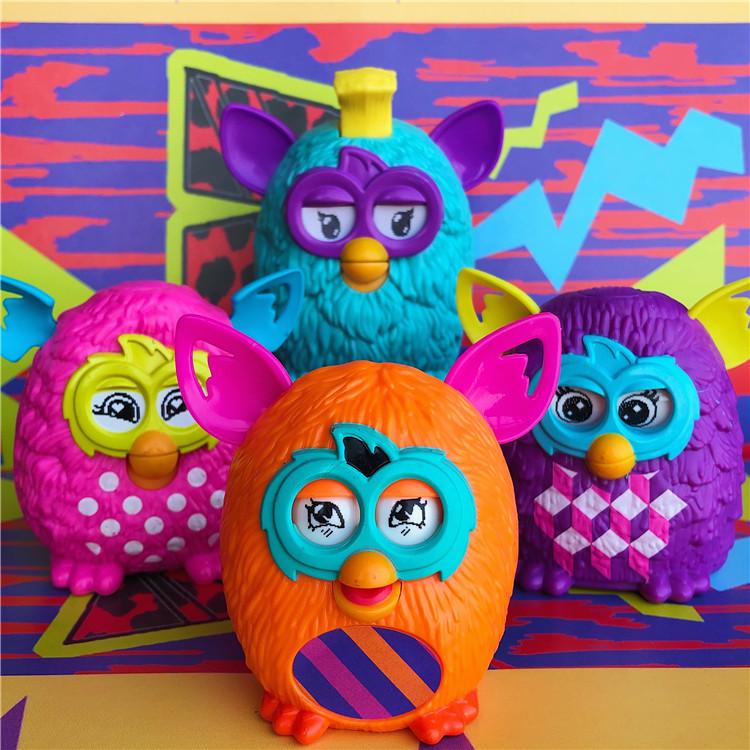 超可爱!眼睛可动!Furby 菲比精灵 公仔玩具