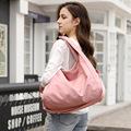 尼龙购物袋女包饺子包通勤帆布手提单肩斜挎包牛津布大容量妈咪包