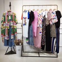 时尚潮牌法尔莎2020夏装女装品牌折扣亮点国际拓谷万古汇批发走份