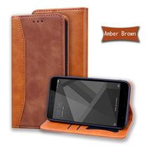 适用红米4X商务拼接手机皮套 Note4个性创意壳Note4X时尚手机皮套