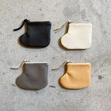 insPU皮革弹片包女士钥匙钱包硬币耳机小收纳包可折叠杂物收纳包