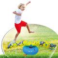 新品现货pvc旋转喷水棒充气喷水玩具儿童戏耍圆形喷水垫草坪戏水