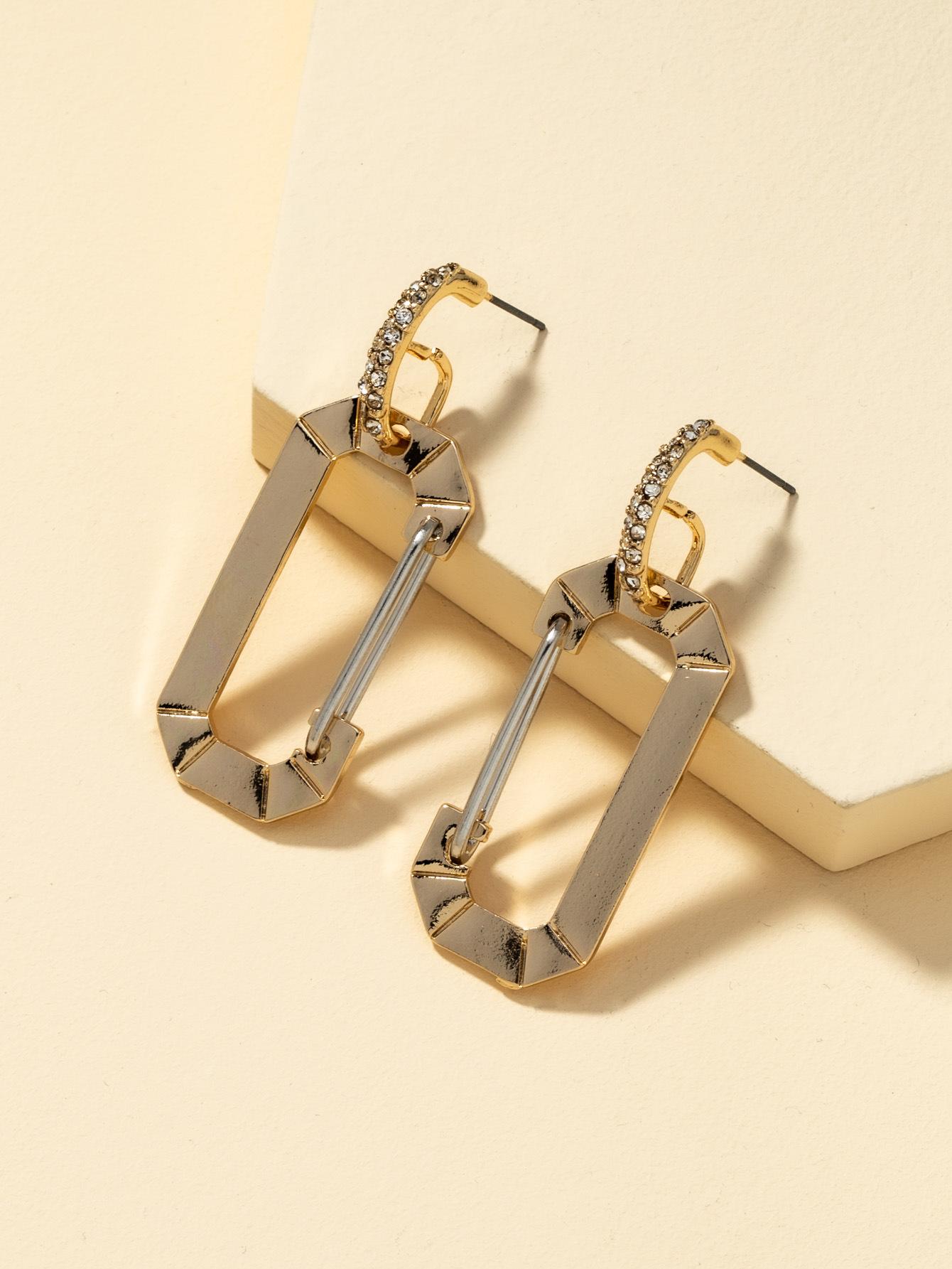 multicolor simple retro earrings NHQJ316720