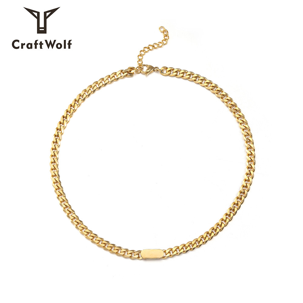 hiphop trendy thick chain European and A...