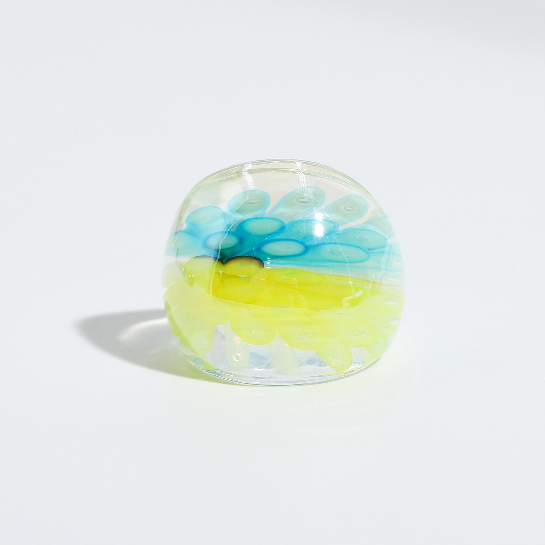 Korean glaze smudge ring NHJQ336278