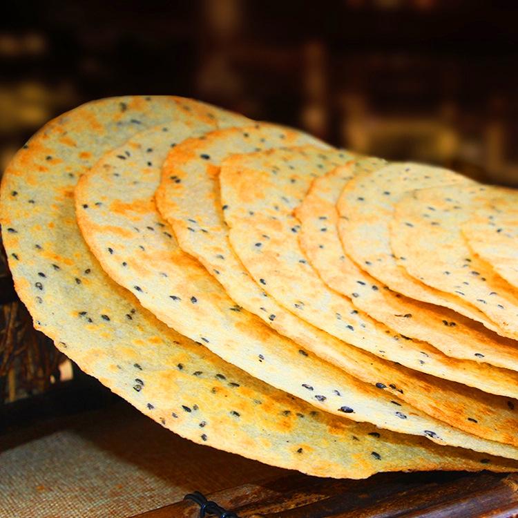 待见山西特产昔阳压饼5袋40个阳泉香葱手工芝麻烧饼香酥脆薄饼干