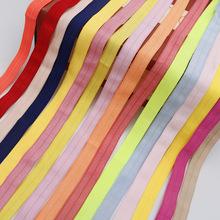 锦纶彩色1.5cm有光包边带氨纶弹力包边对折包边带内裤包边辅料