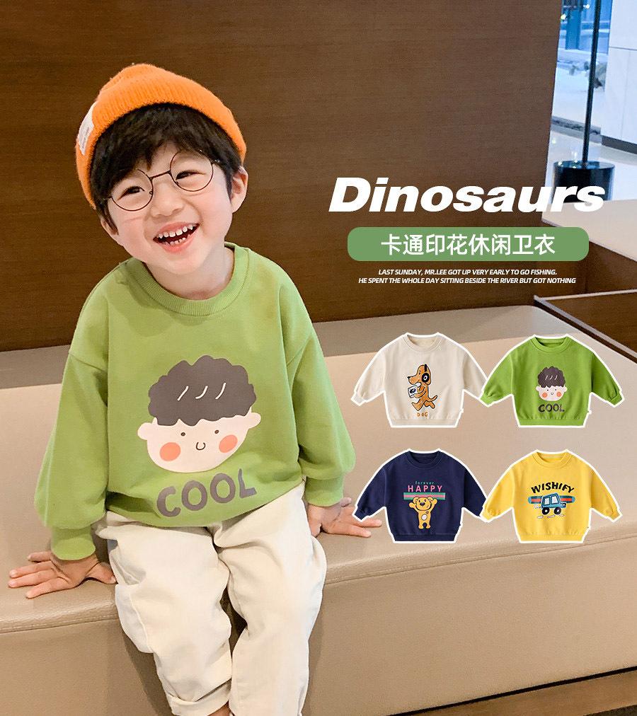 儿童卫衣春秋2021新款3岁男童上衣童装外套秋装宝宝衣服厂家直销