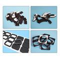 【日产50W】EVA脚垫 自粘EVA胶垫 可定制 强粘高弹可背胶加厚减震