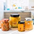 厂家批发玻璃辣椒酱果酱玻璃瓶 蜂蜜六棱食品玻璃罐头瓶