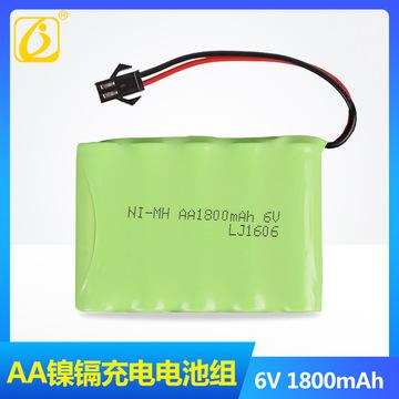 金隆杰 6V 1800mAh M型 遥控电动玩具 AA5号充电镍氢电池组