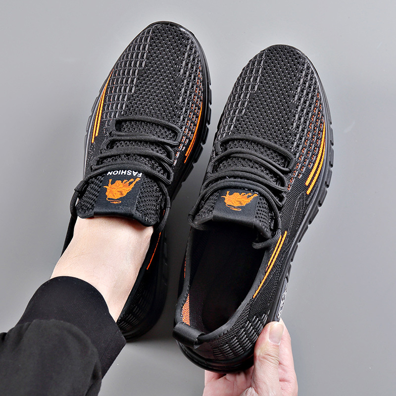Men's shoes summer breathable casual sho...