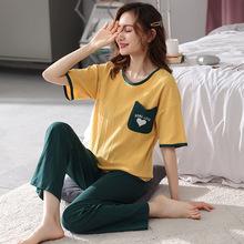 Bộ đồ ngủ nữ thời trang, thiết kế dễ thương, mẫu Hàn xinh xắn