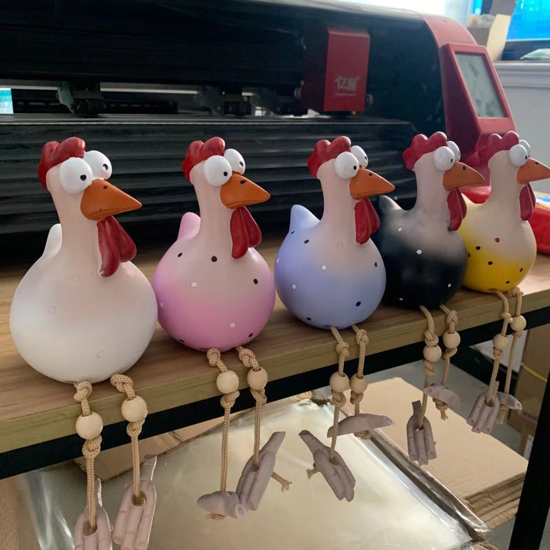 Fun Gift for Chicken lovers. Buy Chicken Ornaments for the Garden