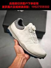 外贸尾单牛皮皮鞋golf男士高尔夫球鞋固定钉旋转鞋带运动鞋男鞋子