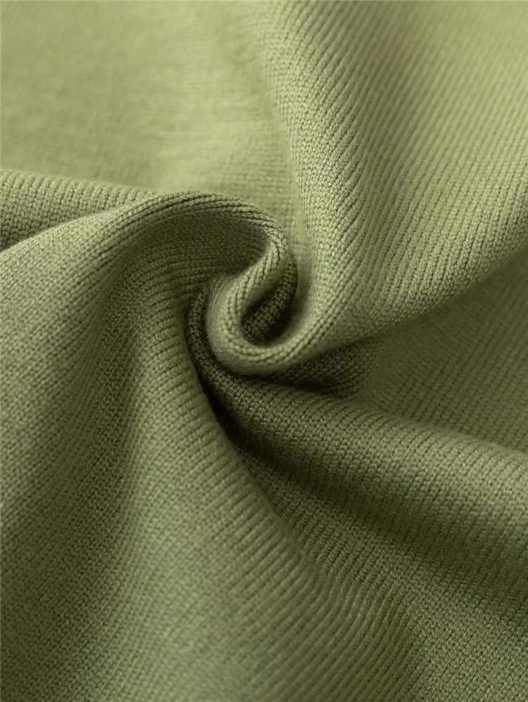 Fashion color matching temperament V-neck knitted vest   NSLD27893