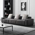 北欧小户型科技布沙发 三人位懒人意式客厅组合简约现代 布艺沙发