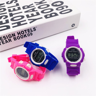 Children's Watches Boys and Girls Watches Cartoon Electronic Watches Multicolor Taobao Gifts