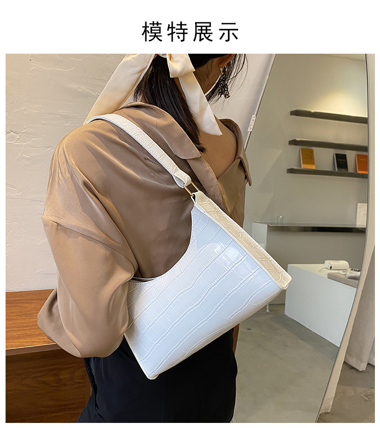 Fashion shoulder portable bag wholesale NHRU328799
