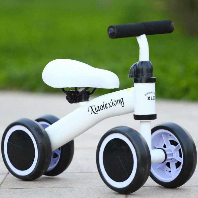 儿童四轮平衡车无脚踏1-3岁小孩滑行车宝宝婴幼儿助力学步玩具车