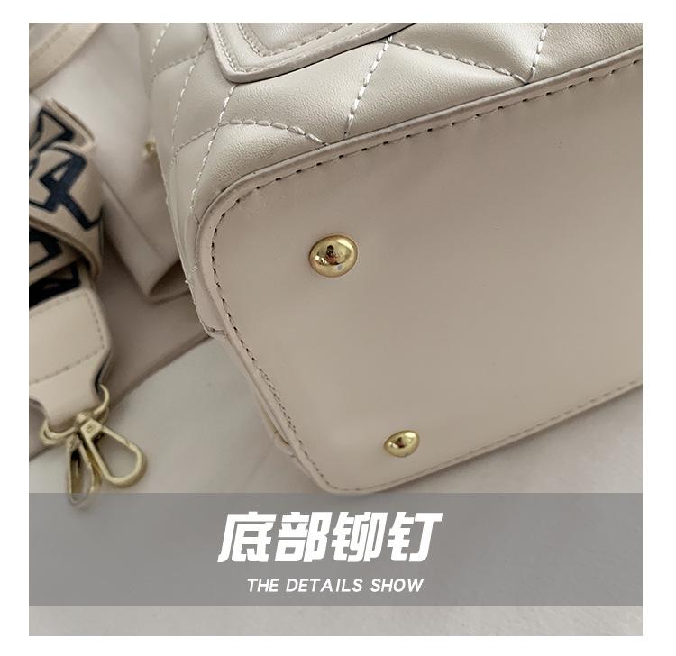 Retro bucket bag shoulder messenger bag NHJZ337599