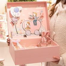 卡通ins风立体盒儿童节送玩具礼物盒情人节送女友鲜花惊喜礼品盒