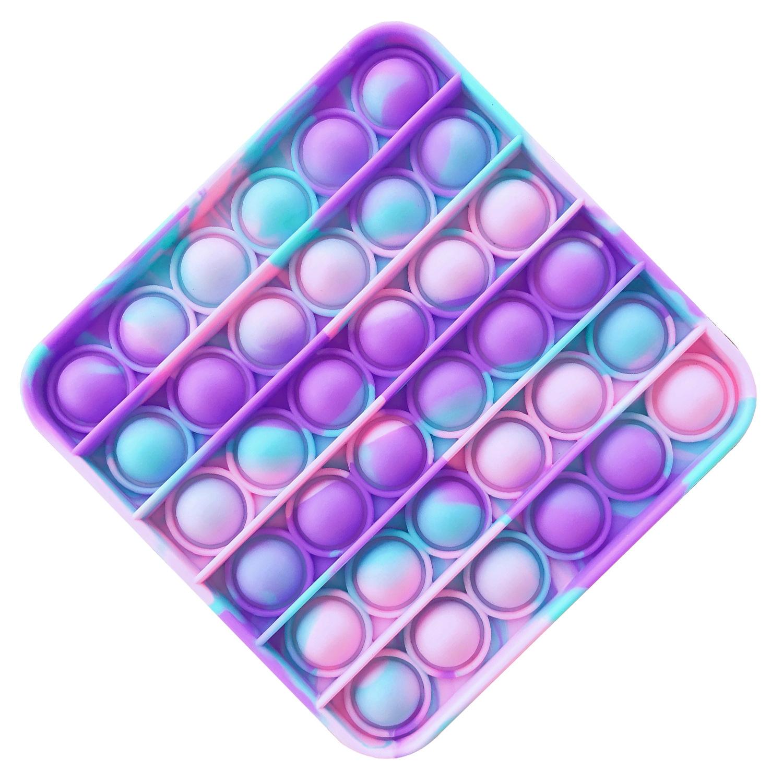 方形-粉青紫