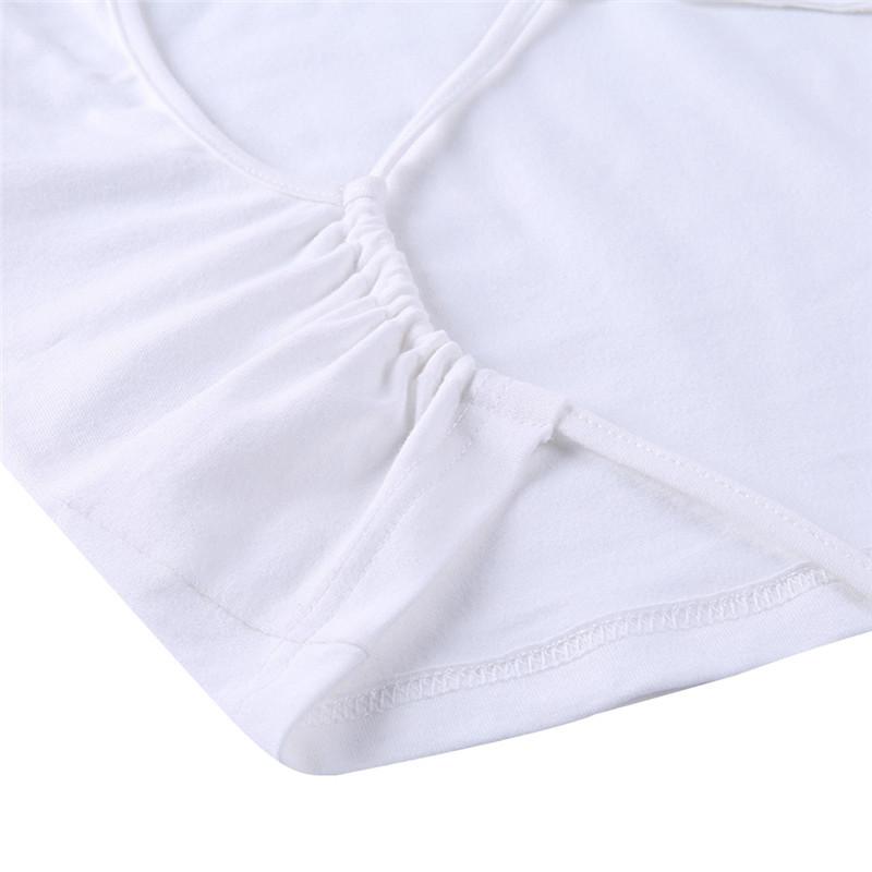 solid color waist strap tee NSYKD50638