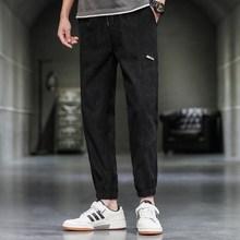 夏季薄款男士单裤微胖男生搭配卫衣外裤九分裤子30-25-20岁40西裤
